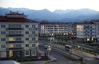 A view of Sochi
