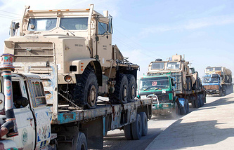 NATO forces withrawal from Afghanistan (archive)