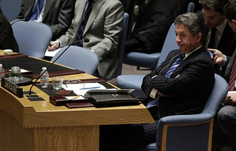 Ukraine's Ambassador to the United Nations Yuriy Sergeyev