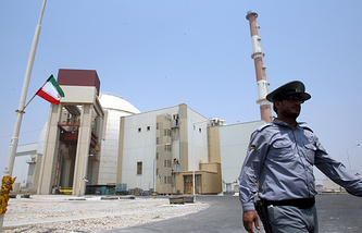 Iran's nuclear power plant in Bushehr