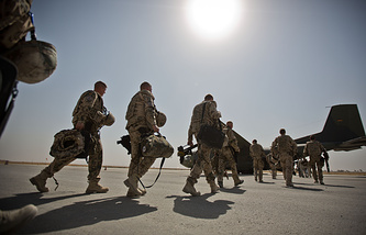 Withdrawal of international troops from Afghanistan (archive)