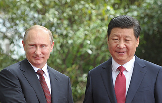 Russian President Vladimir Putin and Chinese President Xi Jinping