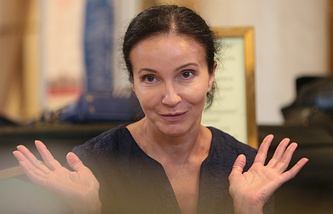 Choreographer and stage director Alla Sigalova