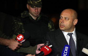 Ukrainian parliament-appointed Energy and Coal Industry Minister Yuriy Prodan