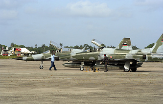 Kenyan Air Force fighters (archive)