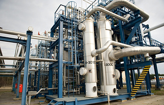 Gas storage facility in Hungary