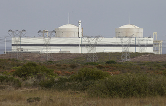 Koeberg nuclear plant in Cape Town (archive)