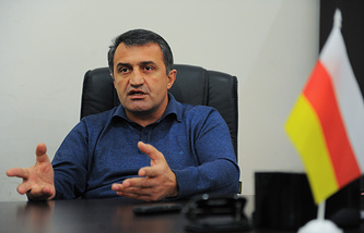 South Ossetia Parliament Speaker Anatoly Bibilov