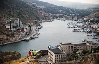 A view of Crimea's Balaklava