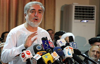 Ex-Minister of Foreign Affairs of Afghanistan Abdullah Abdullah