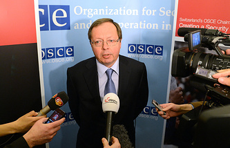 Russia's envoy to the Organization for Security and Cooperation in Europe Andrei Kelin