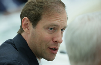 Industry and Trade Minister Denis Manturov