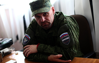 Commander of the Luhansk People's Republic militia Alexey Mozgovoy,