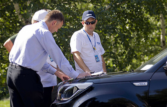 OSCE experts on the way to the crash site