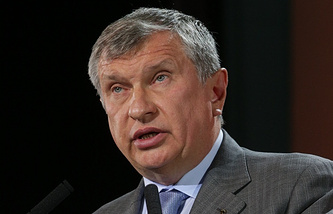 Rosneft CEO Igor Sechin