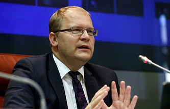 Estonian Foreign Affairs Minister Urmas Paet