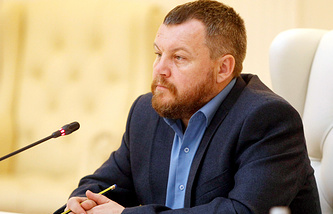 DPR First Vice-Premier Andrey Purgin