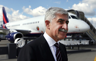 President of the United Aircraft Corporation of Russia Mikhail Pogosyan