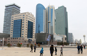 Kazakhstan's capital of Astana