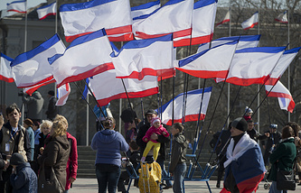 Crimean flags (archive)