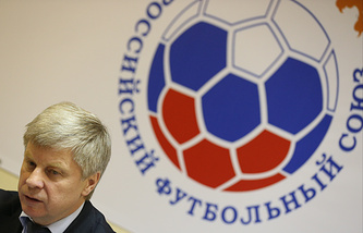 Russian Football Union president Nikolai Tolstyk