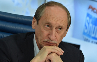 All-Russia Athletics Federation (ARAF) President Valentin Balakhnichev