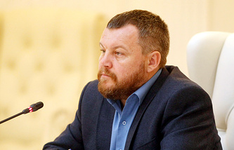 People's council of the self-proclaimed Donetsk People's Republic (DPR) Andrey Purgin