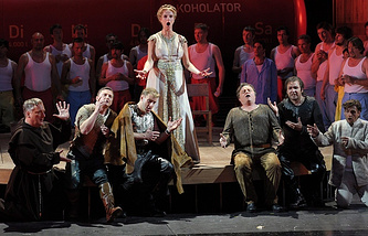 A scene from Tannhauser opera