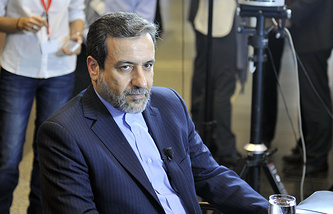 Iran's Deputy Foreign Minister Abbas Araghchi