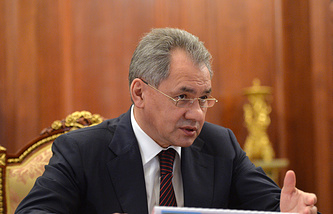 Russian Foreign Minister Sergey Shoigu