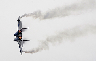 A MiG-29 fighter jet (archive)