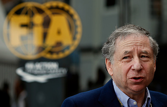 Jean Todt, the president of the Federation Internationale de l'Automobile (FIA)