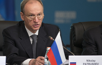 Secretary of the Russian Security Council Nikolay Patrushev