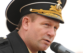 Commander of Russia's Baltic Fleet, Vice-Admiral, Viktor Chirkov