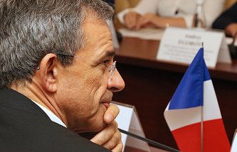 French parliamentary delegation head Thierry Mariani