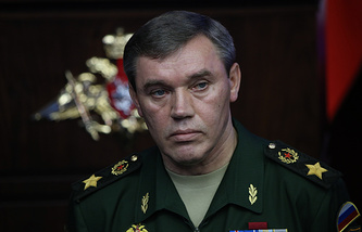 Russian General Staff Chief Valeriy Gerasimov