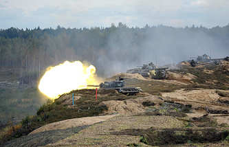 Zapad-2013 Russian-Belarusian strategic military drills