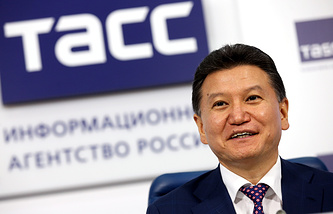 World Chess Federation (FIDE) President Kirsan Ilyumzhinov