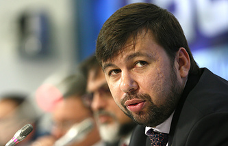 DPR envoy Denis Pushilin