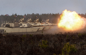 US military drills in Lithuania, September 2015