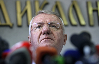 Serbian Radical Party leader Vojislav Seselj