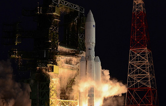 Russia's new Angara heavy carrier rocket