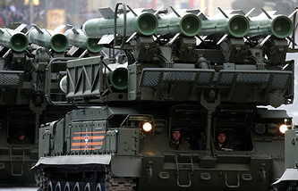 Buk-M2 air defense missile system