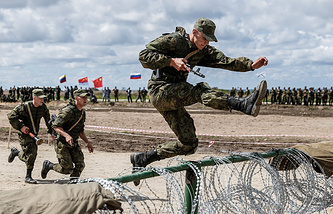 The International Army Games' 2016 Seaborne Assault contest