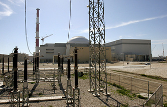 Reactor building of the Iran's Bushehr nuclear power plant, 2006