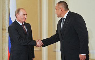 Vladimir Putin and  Boyko Borisov (archive)