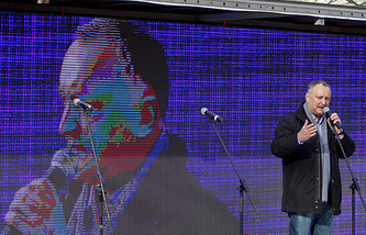 Leader of the Party of Socialists of Moldova, Igor Dodon
