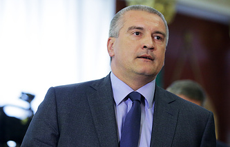 Head of Crimea Sergey Aksyonov