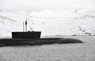 Vladimir Monomakh nuclear-powered submarine