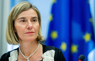 High Representative of the European Union for Foreign Affairs and Security Policy Federica Mogherini